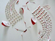 色藝兼備的細膩工法,超飛躍的彩色紙雕 | 大人物
