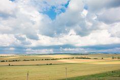 Крымские поля и облака. © Павел Можаев (http://mevamevo.livejournal.com/). #Field #Fields #Meadow #Meadows #Cloud #Clouds #Summer #Crimea