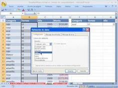 Excel Facil Truco #76 P2: Formula Evitar el Limite de 1 Regla de Validacion de Datos - YouTube