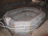 Concrete Hot Tub
