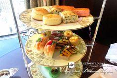 Afternoon tea of August ❤ The Lobby Lounge @ Shangri-La International Hotel
