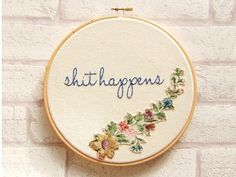 I really need to learn how to embroider so I can make something like this!