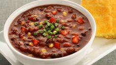 Dr. Joel Fuhrman's 7-Day Crash Diet is full of foods to help your body burn fat faster. For lunch, try this delicious chili. Beans will keep you satiated, help to reduce blood sugar and may help to burn off fat.