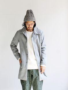 maillot wool cotton fw coat (ウールコットンコート) MAO-033 Strato