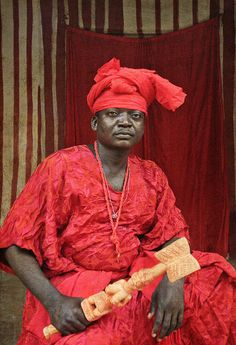 Emissaries of an iconic religion21. Orisa Sango [diety of thunder] - Prince Adewale Oke