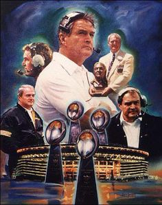 RIP Hall of Fame Coach Chuck Noll...passed away on June 13, 2014, at the age of 82.  Still the only coach to have coached one team to four Super Bowl championships.  He was legendary.