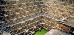 The unique Chand Baori at Jaipur
