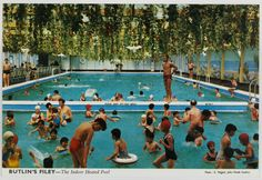 John Hinde's Technicolor postcards straddle the line between the wistful and familiar, drawing memories of 99 flakes and day trips to the seaside. Martin Parr, Swimming Pools Drank, Butlins Holidays, British Holidays, Holiday Party Themes, Park Playground, Vintage Swim, Holiday Places, North Yorkshire
