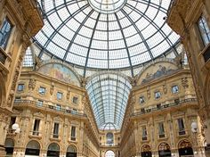 Great fashion, great architecture, great food, and some of the very best people-watching on the planet—it's all but to impossible to argue with the all-around beauty of Milan. Even its shopping malls, like Galleria Vittorio Emanuele II (pictured), are elegant.