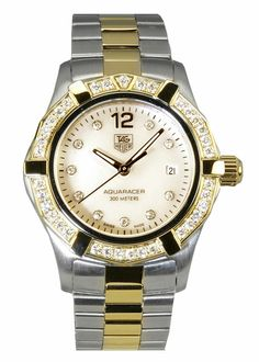 ef56442940f TAG Aquaracer 2000 Women s Diamond watch Tag Watches
