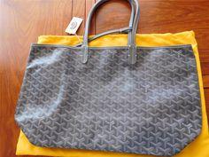 Authentic GOYARD Saint Louis PM Shoulder Tote Bag PVC Leather VTG Goyard  Handbags, Handbags Online 21088849116