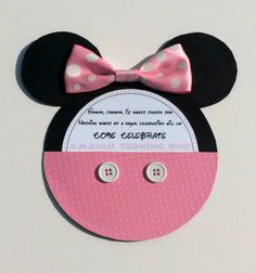 Handmade Minnie Mouse & Mickey Mouse Party door AmayahsCreations