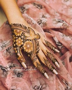 Mehndi Designs Front Hand, Rose Mehndi Designs, Latest Bridal Mehndi Designs, Stylish Mehndi Designs, Mehndi Designs For Beginners, Mehndi Designs For Girls, Mehndi Design Photos, Wedding Mehndi Designs, Mehndi Designs For Fingers