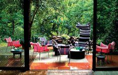Sedie da giardino: Poltrona Ibiscus di Moroso
