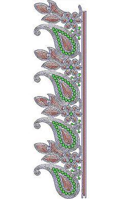 Ivory Lace Design For Wedding Dress