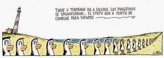 Caleta de cara al mar LOS PINGUINOS DE LINIERS I