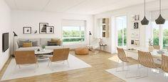 #ethjemfraskanska#petersborgkvartalet#stue 3d, Table, Furniture, Home Decor, Modern, Room Decor, Home Interior Design, Desk, Tabletop