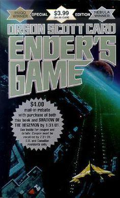 Cover art for Ender's Game