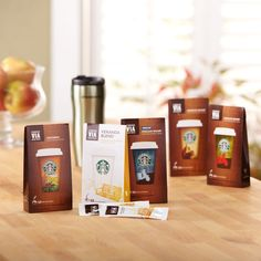 Starbucks VIA® Ready Brew Coffee Tour  A variety 5-pack that lets you explore the range of flavors in our rich, smooth ready-brew coffees. Tasting Notes  Enjoy ready-brew coffees in a range of flavors, from dark roast coffees with different levels of sweetness and smoky intensity, to rich, smooth coffees with a nutty taste, or subtle hints of citrus and caramel. $55.00 http://websites-buy.com/starbucks-coffee-store