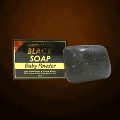 Sunflower Original Formula Afircan Black Soap-BABY POWDER 5.5oz