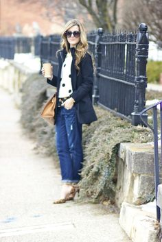 Polka Dot Play  Chic Street Style in Galena