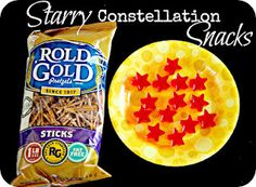 This looks like a yummy way to create constellations!