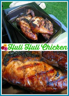 Hawaiian Huli-Huli Chicken {it's the marinade that takes this chicken over the top!!}