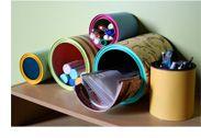 Transformez des contenants de peinture ou de café en vide-poches