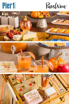 Autumn is the perfect season for gathering with family and friends. Let the PureWow blog show you how to start it off right with a fall kickoff party!