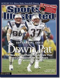 February 14, 2005 - The New England Patriots, Superbowl XXXVIX Champions.