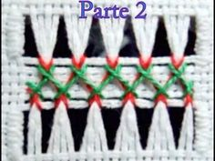 Double Herringbone Hemstitching - Parte 2 - YouTube