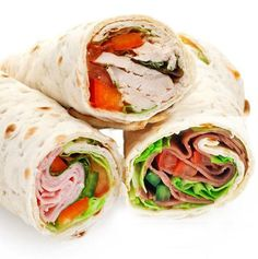 Eat This, Not That: Health, Nutrition, Weight Loss & Recipes Chicken Wrap Recipes, Chicken Wraps, Beef Fajita Recipe, Latin American Food, Make Ahead Lunches, Wrap Sandwiches, Fajitas, Diy Food, Street Food