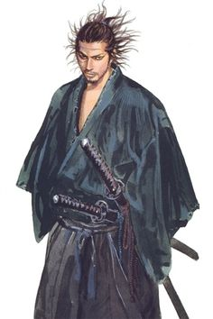"Musashi MIYAMOTO by Takehiko INOUE, Japan: ""There is nothing outside of yourself that can ever enable you to get better, stronger, richer, quicker, or smarter. Everything is within. Everything exists. Seek nothing outside of yourself. ""  - Miyamoto Musashi"