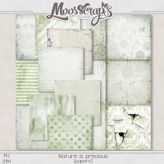 "Didinou Scrap - ***Nouveau***     ""Nature is precious"" by Caro Moosscrap Moses   Now available in my 2 stores     http://www.oscraps.com/shop/Guest-MoosScraps/  https://digital-crea.fr/shop/index.php?main_page=index&cPath=155_333"