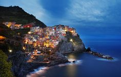 Manarola: According to Wiki this town is the inspiration for the Dorado map in the video game Overwatch (x-post /r/MostBeautiful)