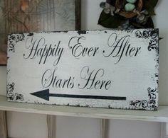 Pointing the Right Way: Wedding Signs – BridalTweet Wedding Forum & Vendor Directory