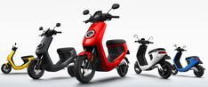 NIU: gli scooter smart e Civic arrivano anche in Italia 50cc Moped, Moped Scooter, In China, Scooter Price, Motorcycle License, Futuristisches Design, Work Horses, Sports Models, Italy