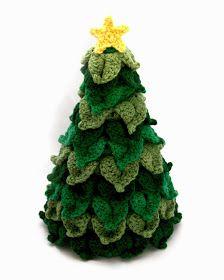 Arte Friki: 10 Patrones Gratuitos de Árboles de Navidad en Amigurumi