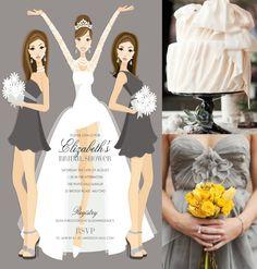 doc milo bridal shower invitations Sassy & Chic   NEW Doc Milo Invitations