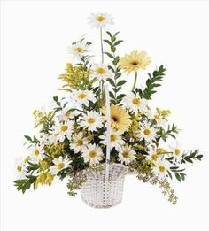 Daisies & Yellow Gerberas Funeral Flowers, Sympathy Flowers, Funeral Flower Arrangements from San Francisco Funeral Flowers.com Search for chinese funeral, sympathy funeral flower arrangements from our SanFranciscoFuneralFlowers.com website. Our funeral and sympathy arrangements include crosses, casket covers, hearts, wreaths on wood easels, coronas fúnebres, arreglos fúnebres, cruces para velorio, coronas para difunto, arreglos fúnebres, Florerias, Floreria, arreglos florales, corona…