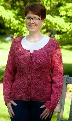 I REALLY want to knit this, but probably won't for two reasons: 1. I need to sew the last sweater I knit together. The pieces have been sitting for years. 2. It would cost me $230 if I used the recommended yarn.