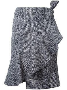 GOEN.J ruffled skirt. #goen.j #cloth #skirt