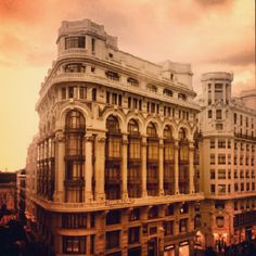 Gran Vía Photo by beaburgos • Instagram