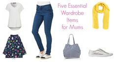 Five Items Every School Mum Needs In Their Wardrobe - Great information, tips, crafts and recipes for School Mums.