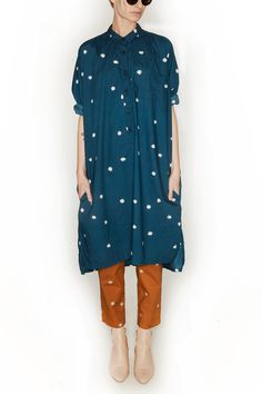 Creatures Of Comfort, Tomlin Dress, Teal