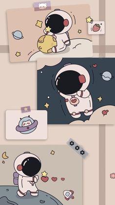 Cute Desktop Wallpaper, Cute Panda Wallpaper, Cute Pastel Wallpaper, Cartoon Wallpaper Iphone, Soft Wallpaper, Anime Scenery Wallpaper, Bear Wallpaper, Cute Patterns Wallpaper, Iphone Background Wallpaper