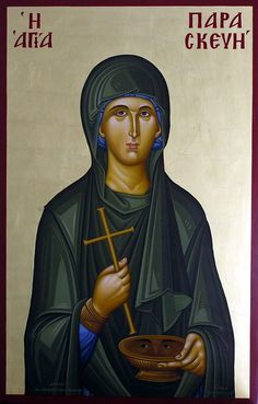 Paraskevi Proportions of the board are wrong. She needs more shoulders, and less empty space above her head. Byzantine Icons, Byzantine Art, Monastery Icons, Holly Pictures, Greek Icons, Church Icon, Russian Orthodox, Orthodox Christianity, People In Need