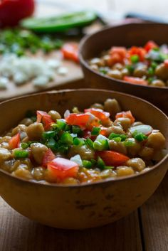 Spicy Chickpeas With Ginger Recipe - NYT Cooking Vegetarian Cooking, Vegetarian Recipes, Cooking Recipes, Freezer Cooking, Vegan Dinners, Vegetable Recipes, Freezer Friendly Meals, Weeknight Meals, Main Meals
