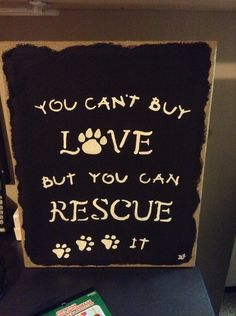 For the dog rescuer