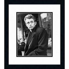 James Dean Framed Art